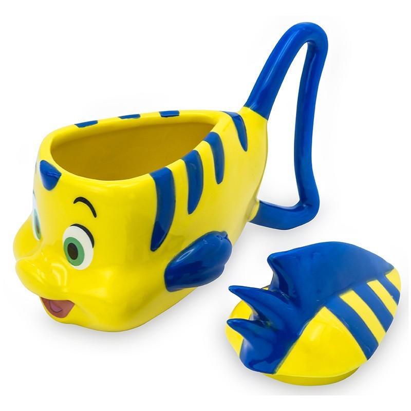 DISNEY - Mug 3D 230 ml - Polochon La Petite Sirène