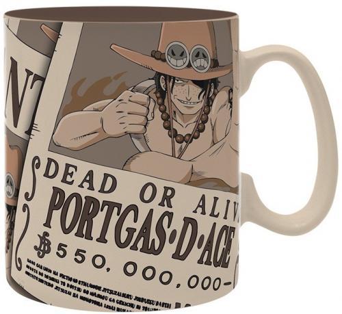 ONE PIECE - Mug 460 ml - Wanted Ace