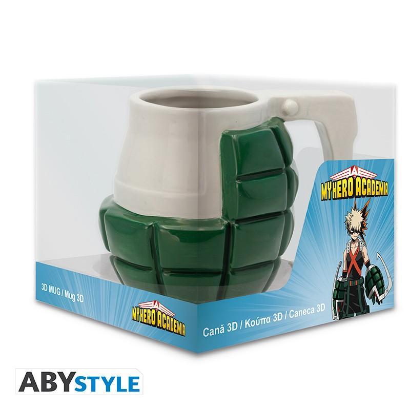 MY HERO ACADEMIA - Mug 400ml 3D - Bakugou Grenade