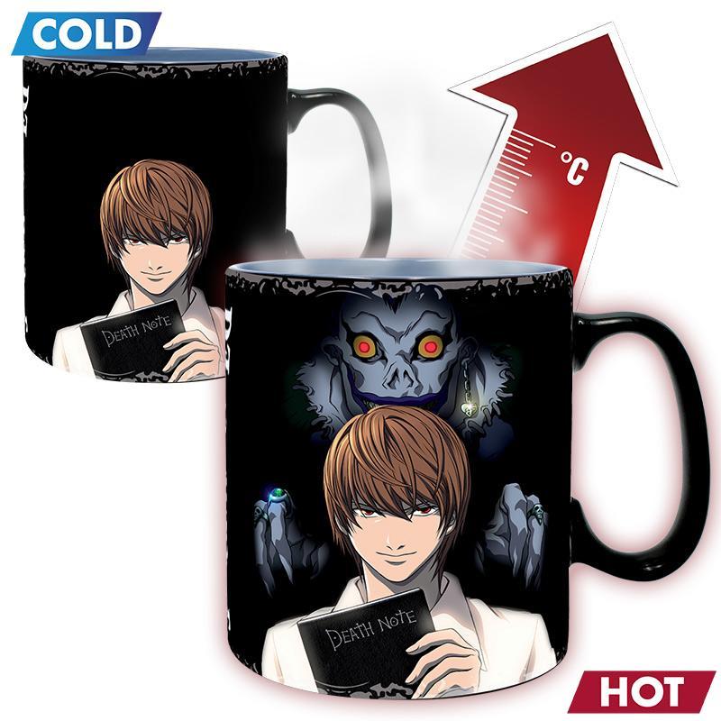 DEATH NOTE - Mug Heat Change 460 ml - Kira & L