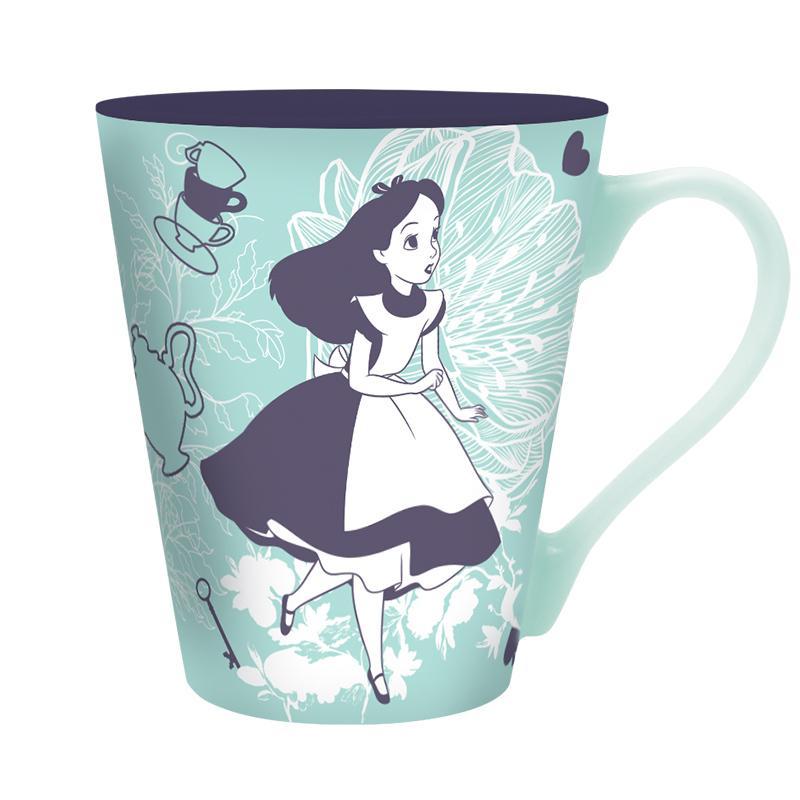DISNEY - Mug 340 ml - Alice & Chat du Cheshire