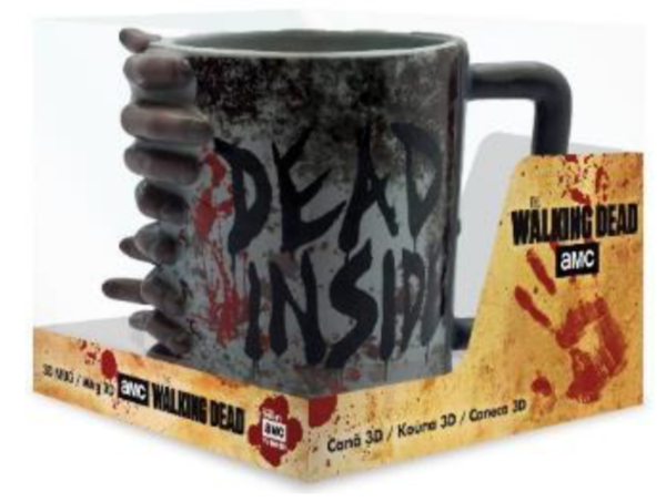 WALKING DEAD - Mug 3D - Don't Open Dead Inside_1