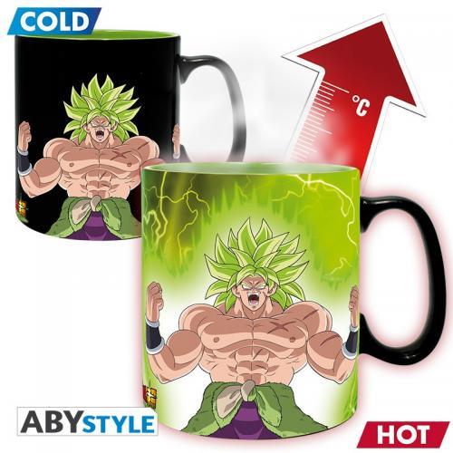 DRAGON BALL SUPER BROLY - Mug thermoréactif 460 ml - Gogeta & Broly