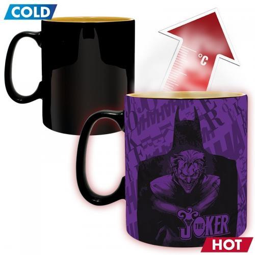DC COMICS - Batman vs Joker - Mug thermoréactif 460 ml