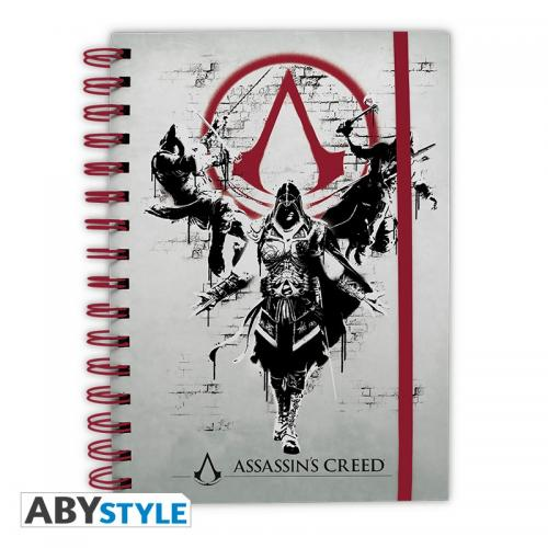 ASSASSIN'S CREED - Legacy - Notebook A5