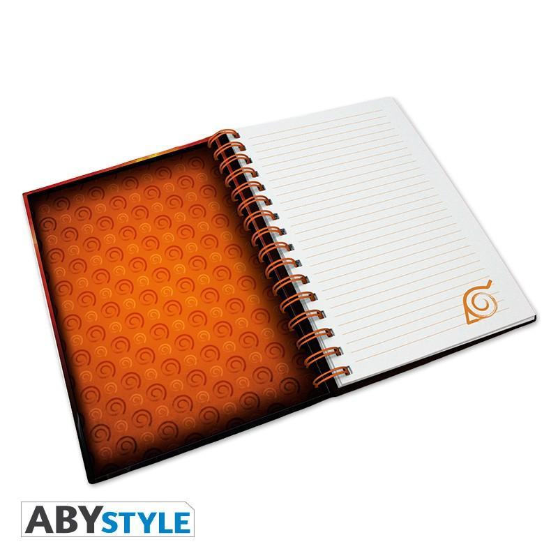 NARUTO - Group Konoha - Notebook A5_2