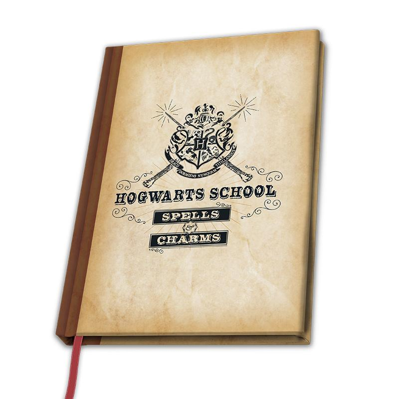 HARRY POTTER - Notebook A5 - Hogwarts School