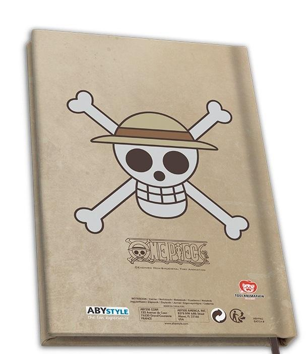 ONE PIECE - Wanted Luffy - Notebook A5_2