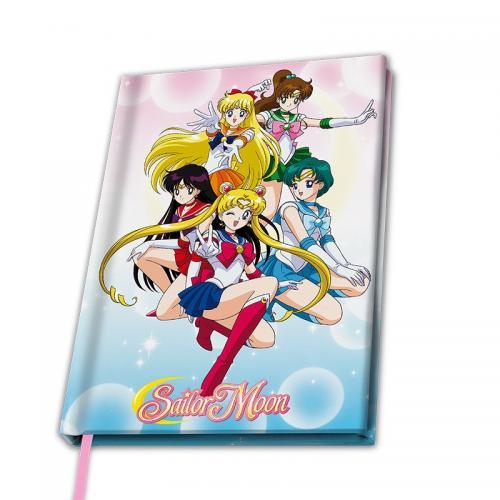 SAILOR MOON - Notebook A5 - Sailor Guerrières