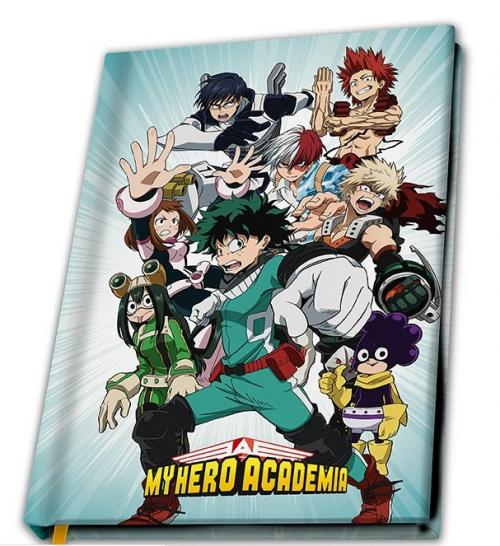 MY HERO ACADEMIA - Héros - Notebook A5