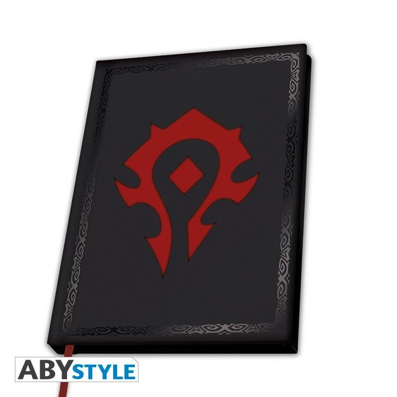 WOW - Notebook A5 - Horde_1