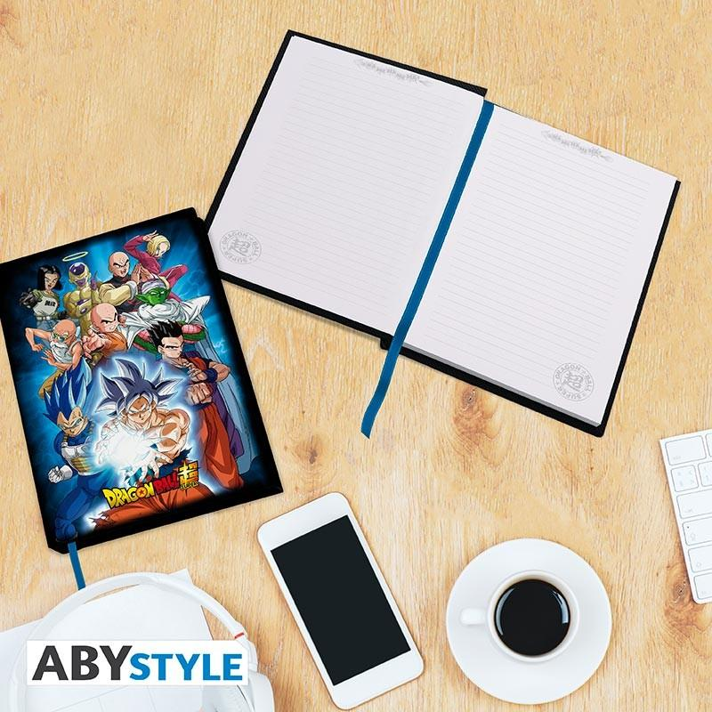 DRAGON BALL SUPER - Notebook A5 - Groupe univers 7_6