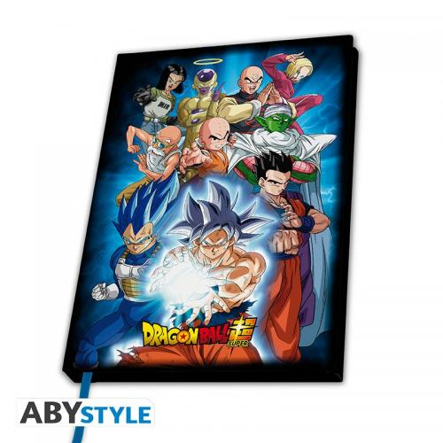 DRAGON BALL SUPER - Notebook A5 - Groupe univers 7
