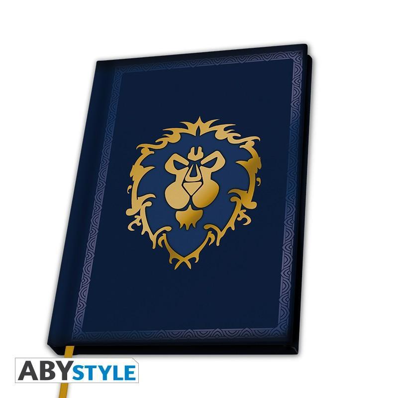 WOW - Notebook A5 - Alliance_1