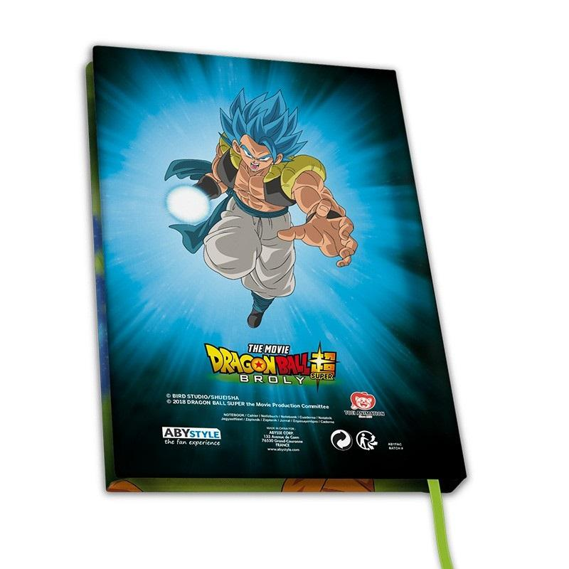 DRAGON BALL BROLY - Broly vs Goku vs Vegeta - Notebook A5_2