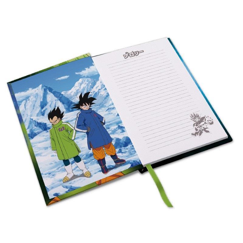 DRAGON BALL BROLY - Broly vs Goku vs Vegeta - Notebook A5_3
