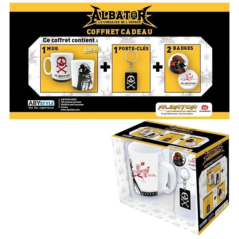 ALBATOR - Coffret Cadeau (Mug + Porte-Clés + Badges) - Emblème