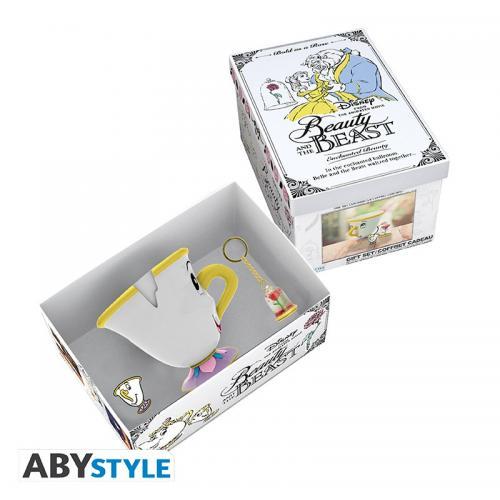 DISNEY - Zip - Coffret prémium avec mug 3D + porte-clés 3D + Pin's
