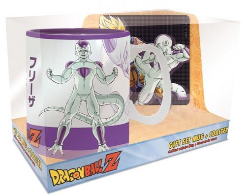 DRAGON BALL - Goku Frieza - Set mug thermoréactif 460ml + sous verre