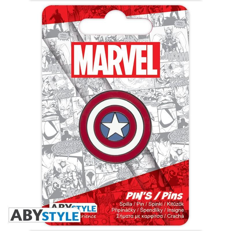 MARVEL - Captain America - Pin's_2
