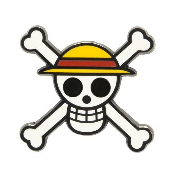 ONE PIECE - Pin's Skull