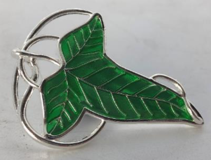 LORD OF THE RING - Pin's 3D - Lorien Leaf