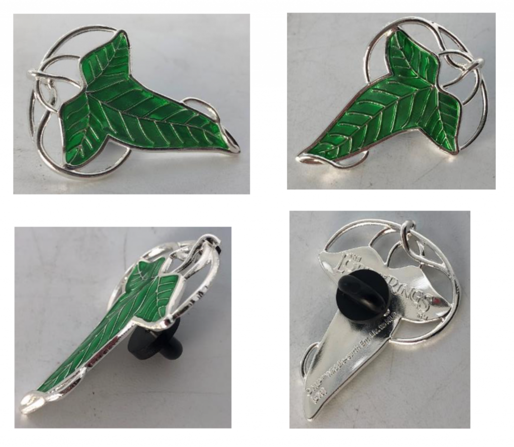 LORD OF THE RINGS - Lorien Leaf - Pin's 3D_2