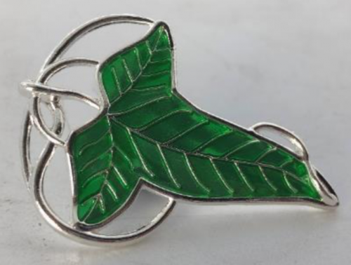 LORD OF THE RINGS - Lorien Leaf - Pin's 3D