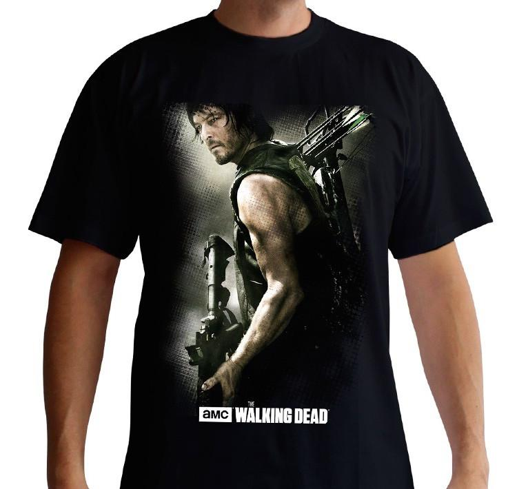 THE WALKING DEAD - T-Shirt Daryl Crossbow (L)_1