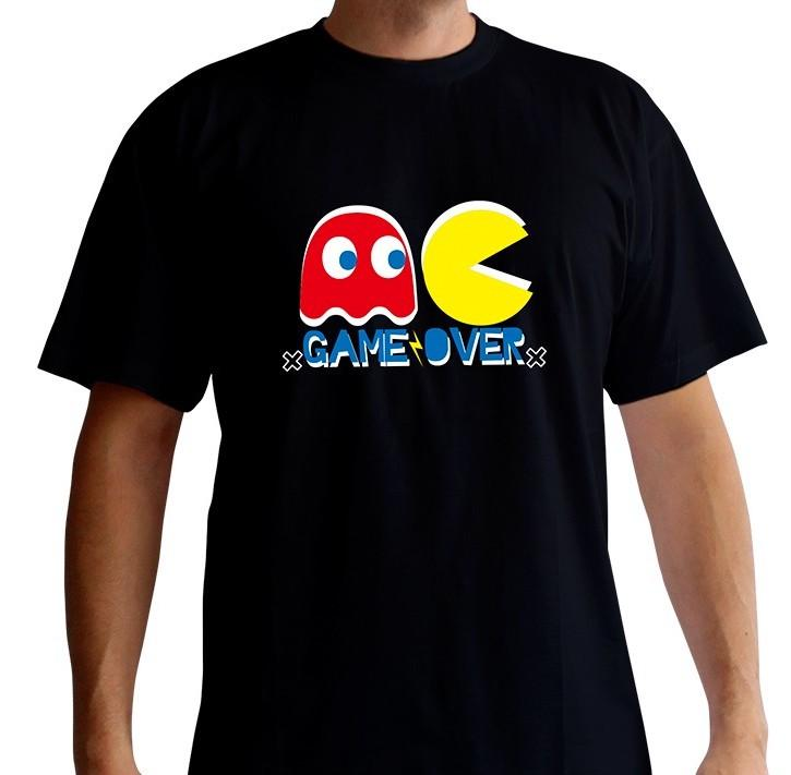 PAC MAN - T-Shirt Game Over (L)