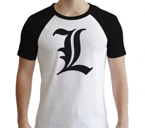DEATH NOTE - L Symbole - T-Shirt homme - (S)