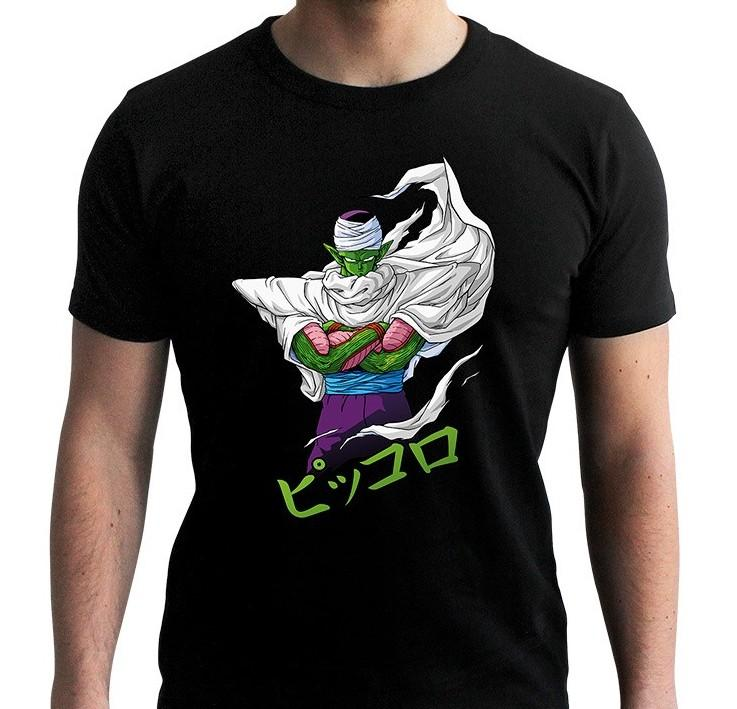 DRAGON BALL - T-Shirt DBZ/Piccolo Homme Noir (XS)