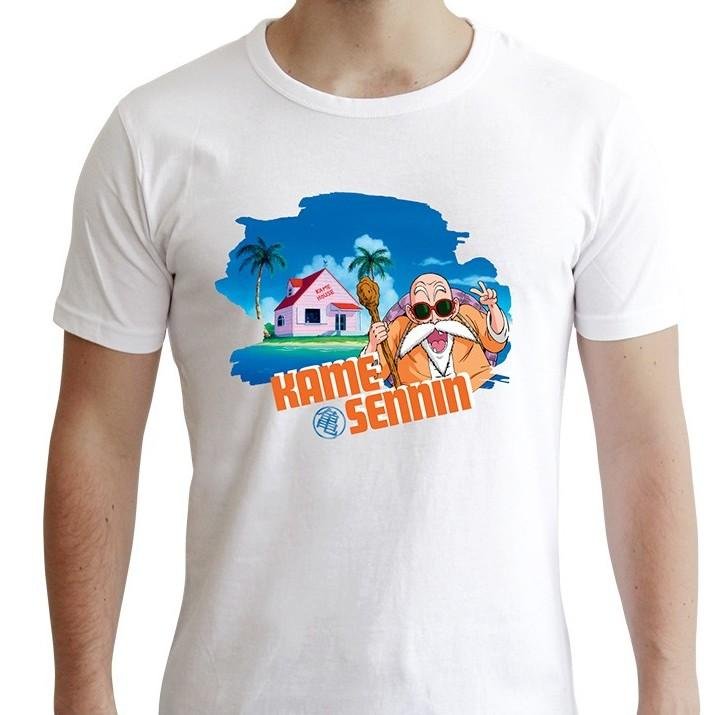 DRAGON BALL - T-Shirt DBZ/Tortue Géniale (S)