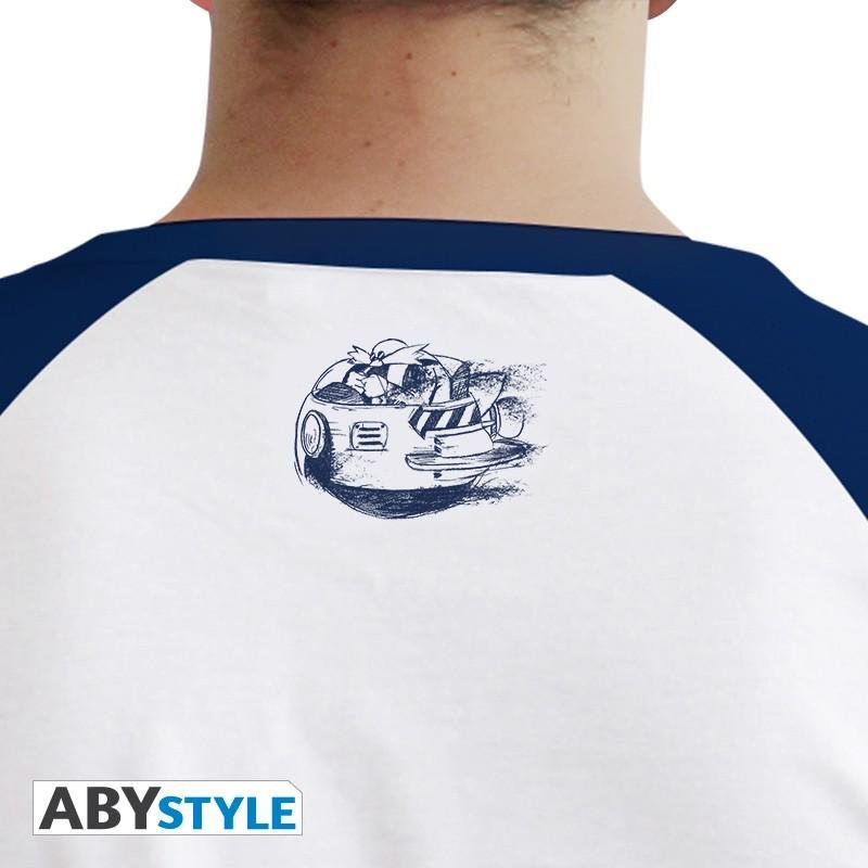 SONIC - T-Shirt Sonic homme blanc & bleu - Premium (XS)_3
