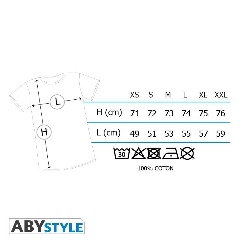 SONIC - T-Shirt Sonic homme blanc & bleu - Premium (XS)_4