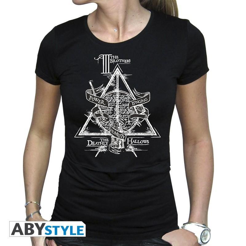 HARRY POTTER - Reliques de la Mort - T-Shirt - Femme - (S)