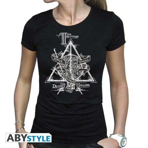 HARRY POTTER - Reliques de la Mort - T-Shirt - Femme - (XS)
