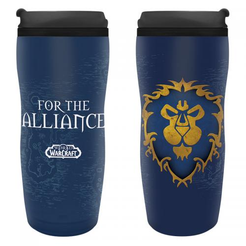 WOW - Mug de Voyage 355ml - Alliance