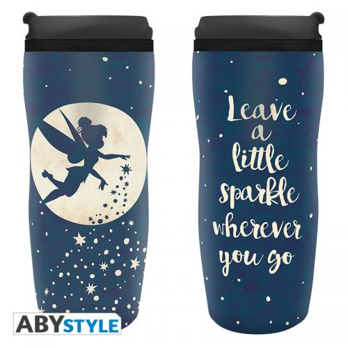 DISNEY - Mug de Voyage 355ml - Peter Pan - Clochette