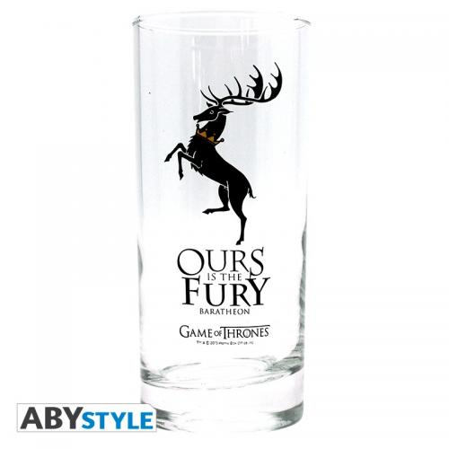 GAME OF THRONES - Baratheon - Verre 290ml
