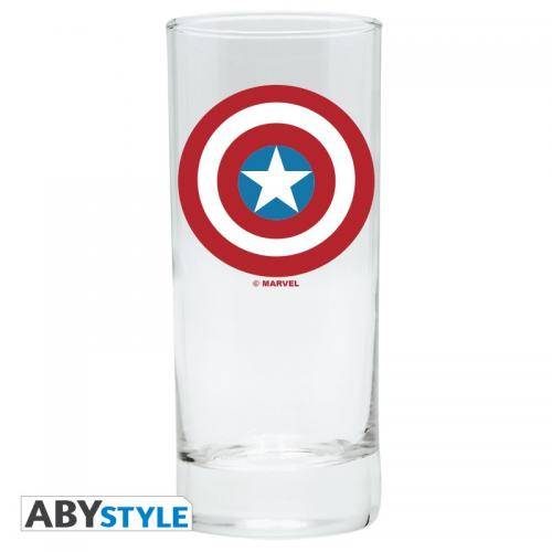 MARVEL - Captain America - Verre 290ml
