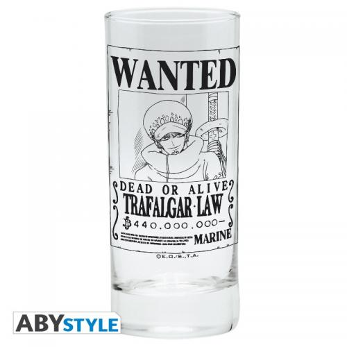 ONE PIECE - Trafalgar Wanted - Verre 290ml