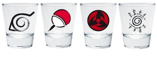 NARUTO - Emblèmes - Verres à shots 5cl