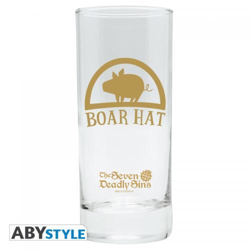 SEVEN DEADLY SINS - Boar Hat - Verre 290ml