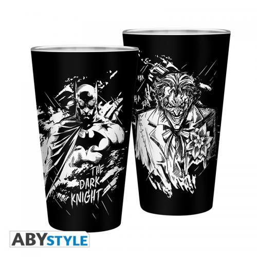DC COMICS - Verre XXL 400ml - Batman & Joker