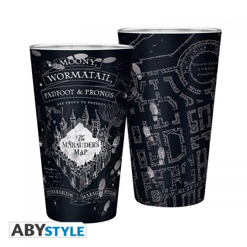 HARRY POTTER - Verre XXL 400ml - Carte du Maraudeur