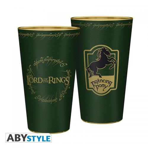 LORD OF THE RINGS - Verre XXL 400ml - Poney Fringant