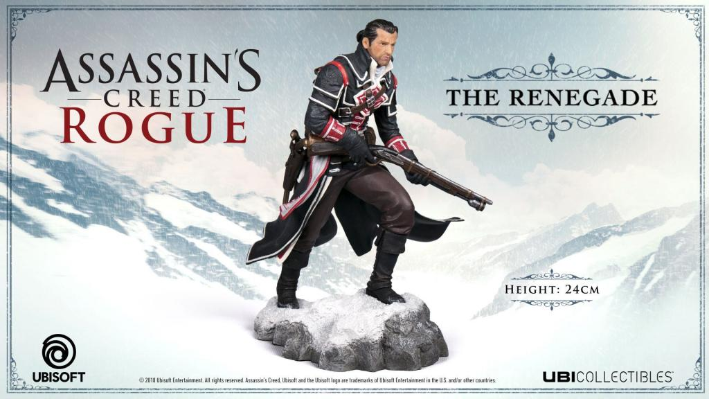 ASSASSIN'S CREED ROGUE - The Renegade Statue 'Officiel Ubisoft' - 24cm_1