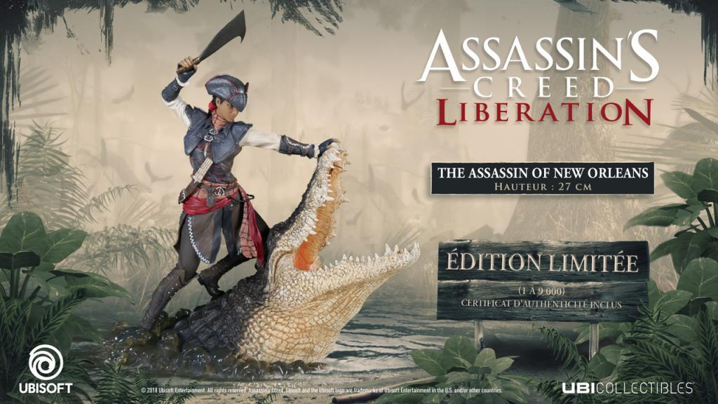 ASSASSIN'S CREED LIBERATION - Aveline Figurine 'Officiel Ubisoft'