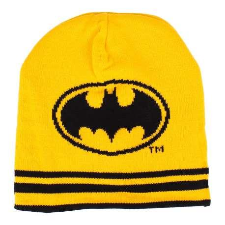 BATMAN - Bonnet Classic Reversible Black/Yellow